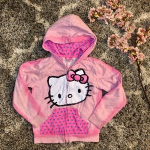 3/$15 Hello Kitty Pink Ombré Hoodie